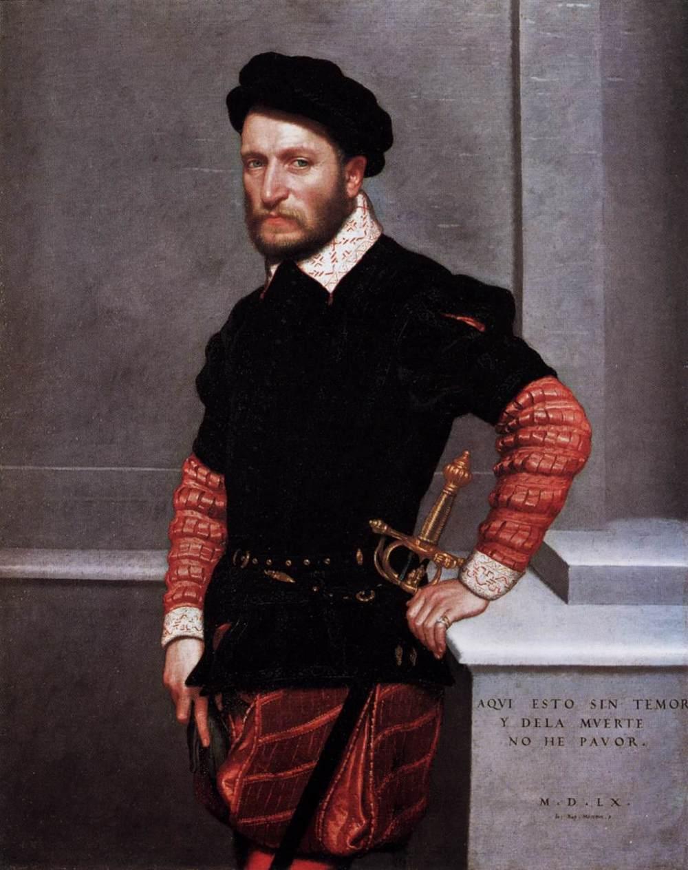 Giovanni Battista Moroni. Retrato de don Gabriel de la Cueva, duque de Alburquerque. 1560. Gemäldegalerie. Berlín.