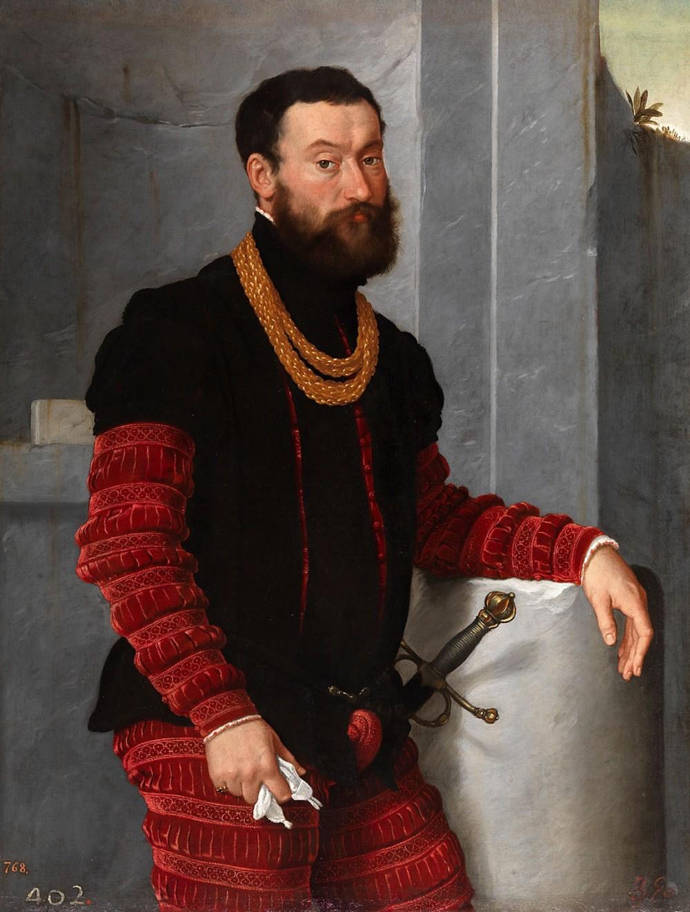 Giovanni Battista Moroni. Un soldado. Hacia 1560. Museo Nacional del Prado. Madrid.
