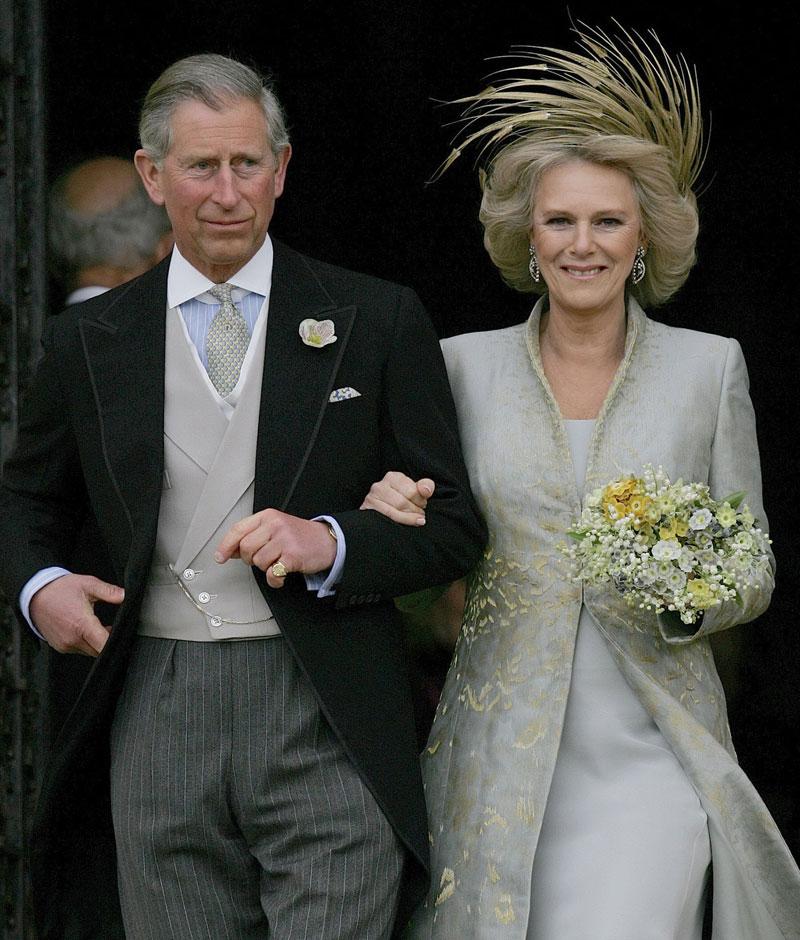 Robinson Valentine. Vestido de novia de la duquesa de Cornualles. 2005.