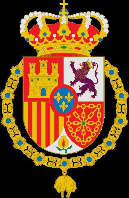Escudo de armas de Felipe VI.