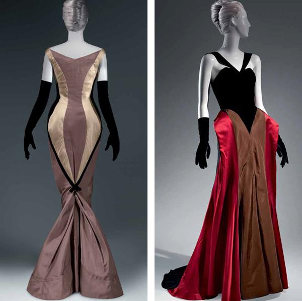 james 2 vestidos de noche