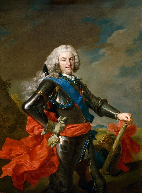 Louis Michel Van Loo. Felipe V. 1739. Museo del Prado. Madrid.