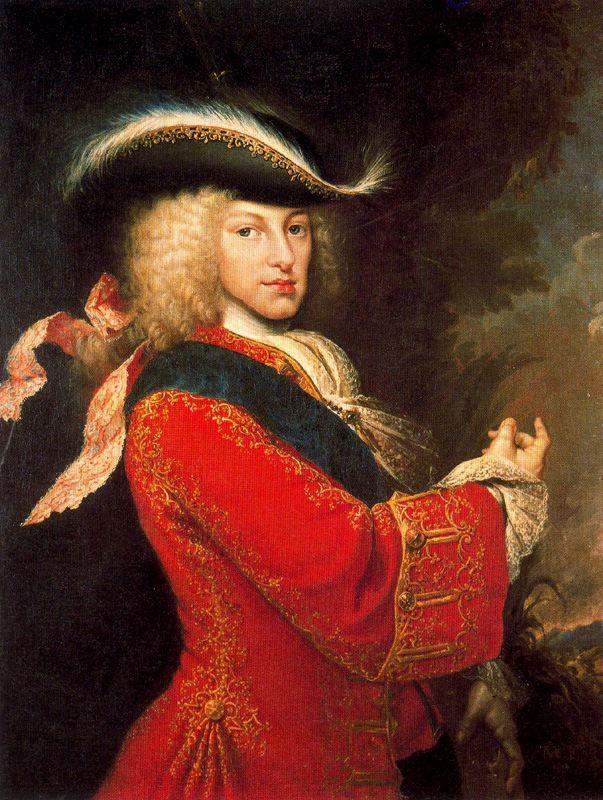 Miguel Jacinto Meléndez. Felipe V cazador. 1712. Museo Cerralbo. Madrid.