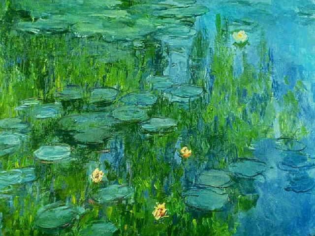 Nenúfares de Monet.