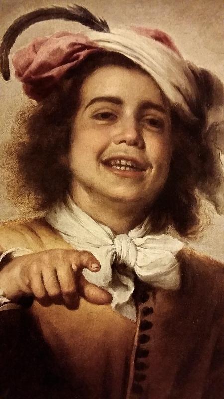 Bartolomé Esteban Murillo. El joven gallero. Cerca de 1660