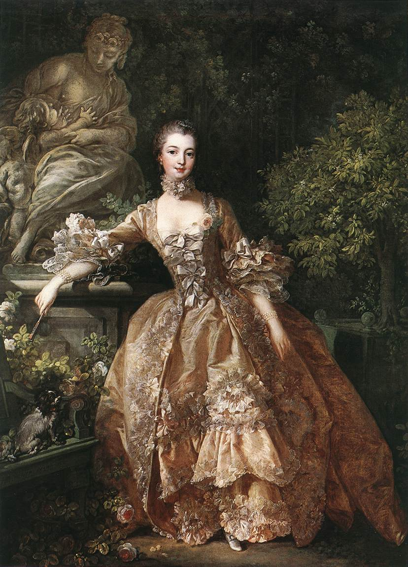 François Buocher. Madame de Pompadour. 1759. Wallace Collection. Londres.