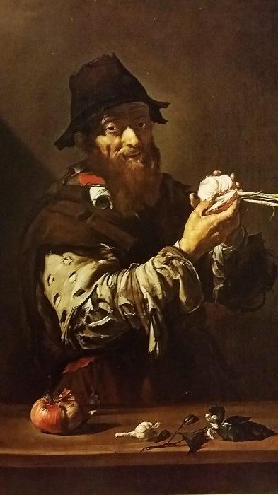 Jose de Ribera. El olfato. Cerca de 1815.