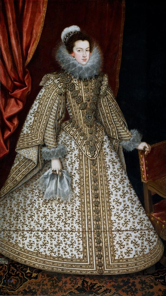 Rodrigo de Villandrando. Isabel de Borbón, futura reina de España. Hacia 1620. Museo del Prado. Madrid.