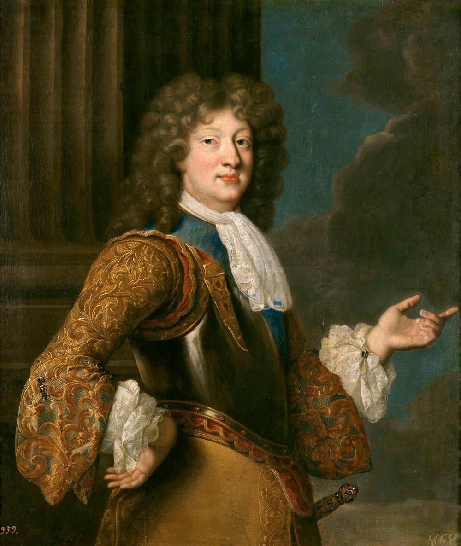 François de Troy. Luis de Francia, el Gran Delfín. Museo Nacional del Prado. Madrid.
