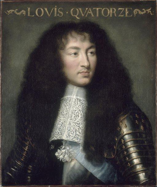 Luis XIV por Charles Le Brun en 1662. Hotel de los Invalidos. Paris.