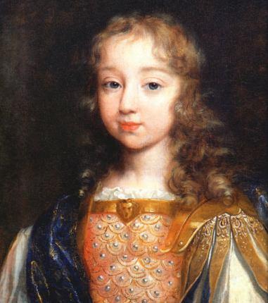 Philippe de Champagne. Luis XIV niño. Hacia 1642.