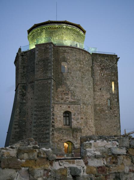 Castillo de Alba de Tormes. Torre del Homenaje.