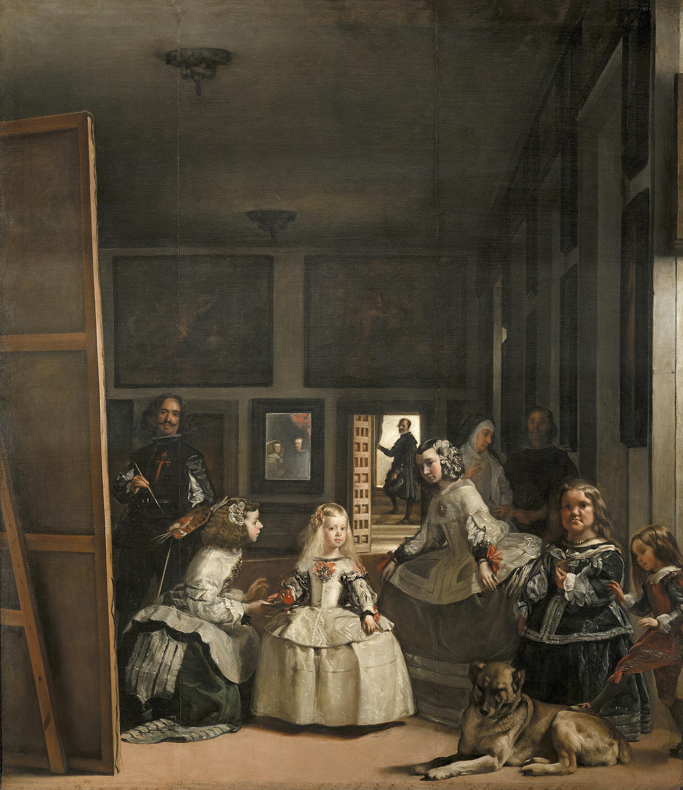 Diego Velázquez. Las Meninas o la familia de Felipe IV. 1656. Museo del Prado. Madrid.