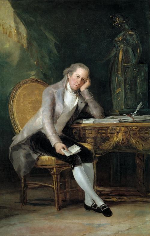 Francisco de Goya. Gaspar Melchor de Jovellanos. 1798. Museo del Prado. Madrid.