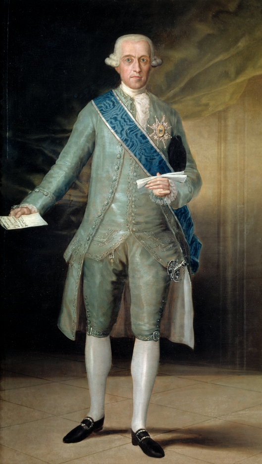 Francisco de Goya. José Moñino y Redondo, conde de Floridablanca. 1783. Museo del Prado. Madrid