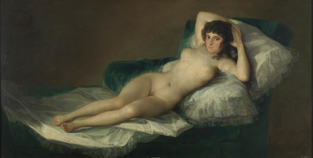 Francisco de Goya. La maja desnuda. 1785-1790. Museo del Prado. Madrid.