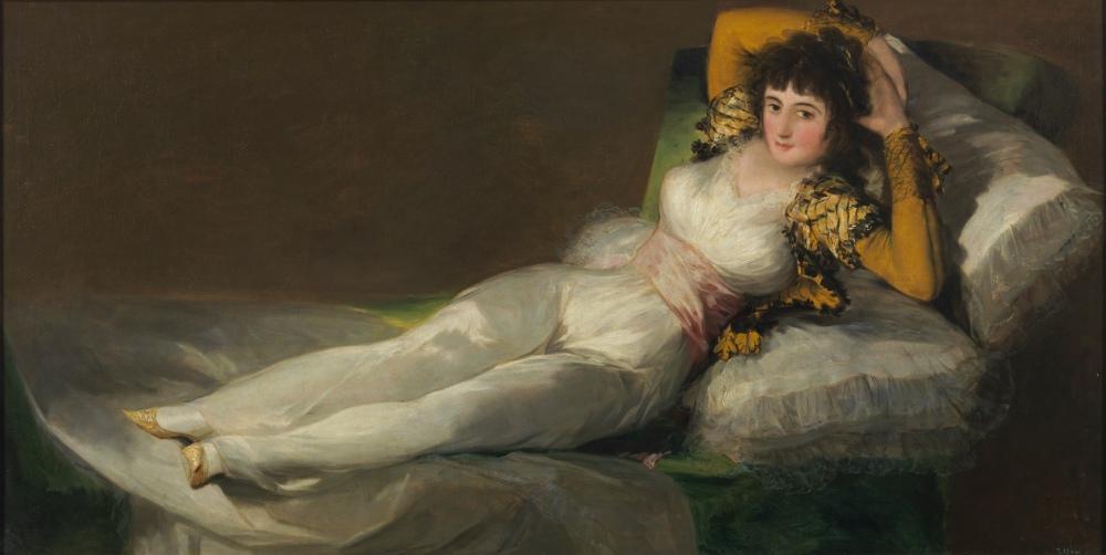 Francisco de Goya. La maja vestida. 1800-1807. Museo del Prado. Madrid.