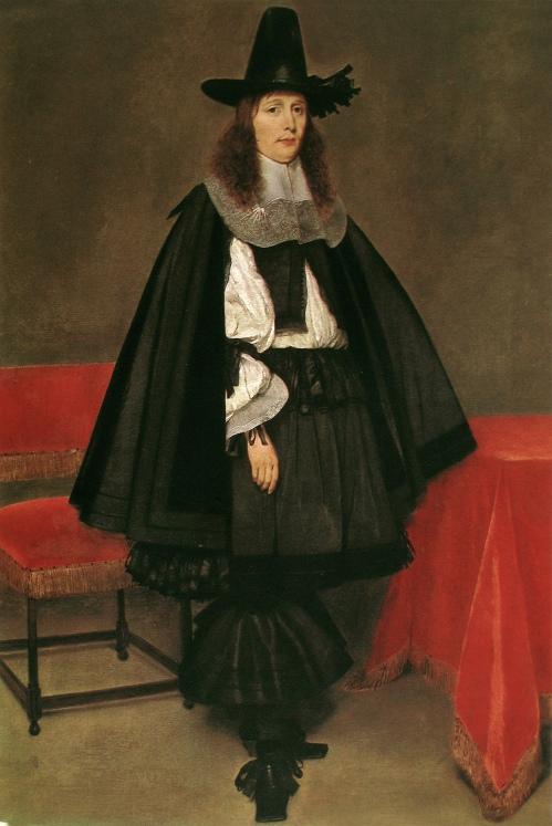 Gerard Terborch. Hombre de pie.1645