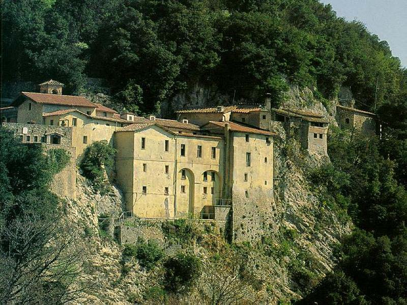Santuario de Greccio. Italia.