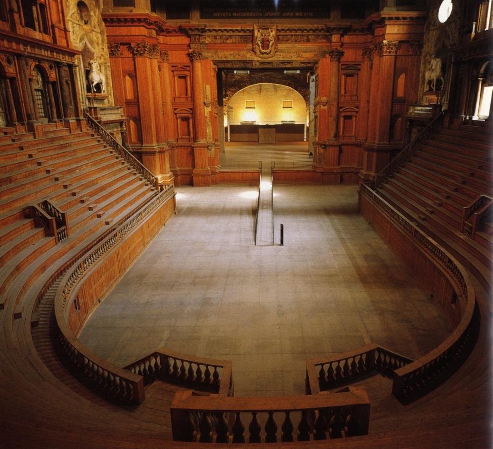 Teatro Farnese. Parma. Siglo XVII