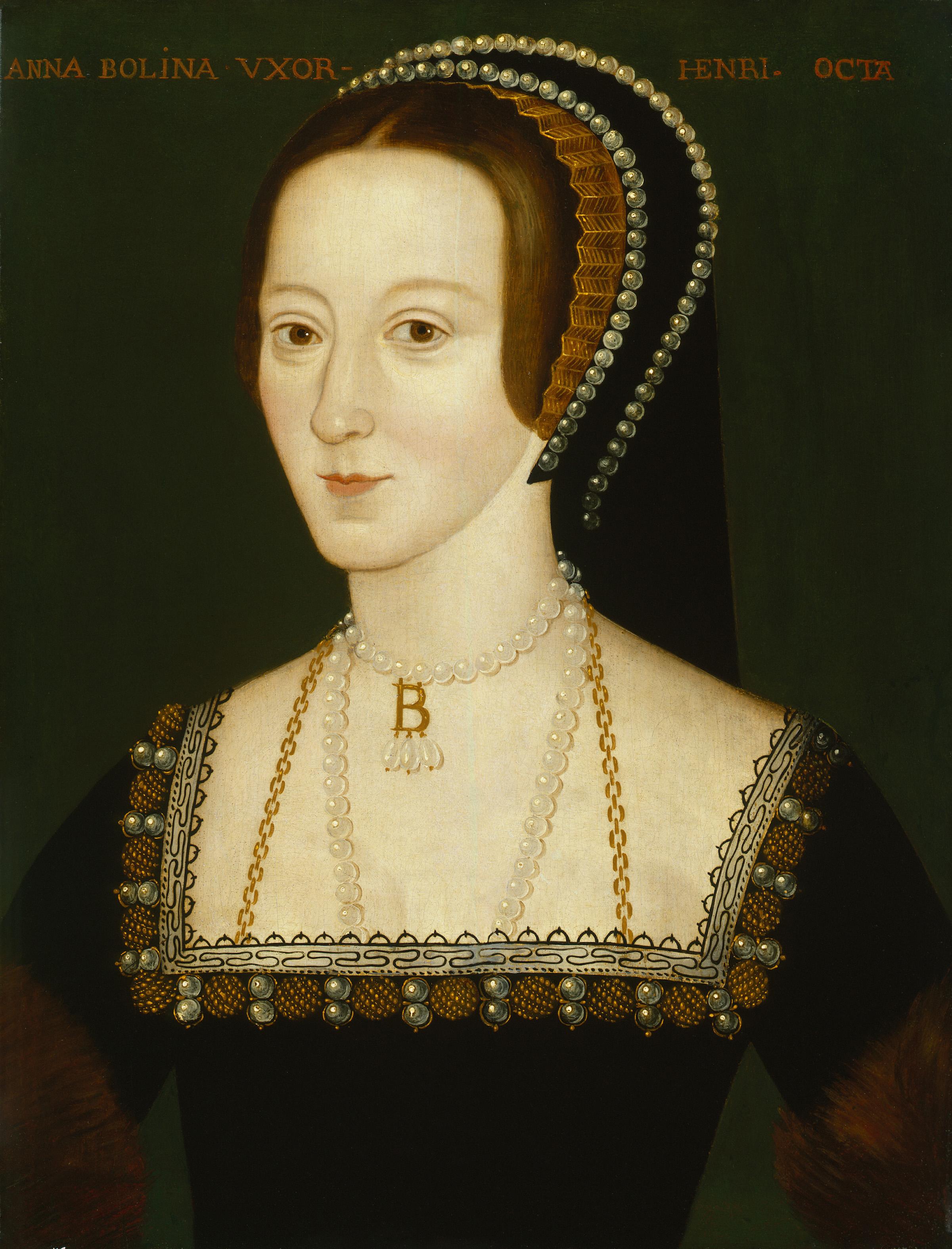 Anónimo. Retrato de Ana Bolena. 1570. National Portrait Gallery. Londres.