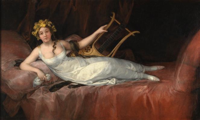 Francisco de Goya. Joaquina Téllez-Girón y Pimentel, marquesa de Santa Cruz. 1805. Museo del Prado.
