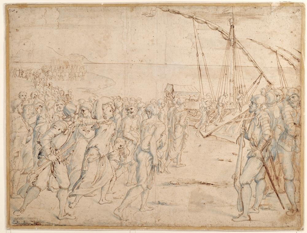 Vicente Carducho. Hacia 1627. La expulsión de los moriscos. Museo del Prado. Madrid.