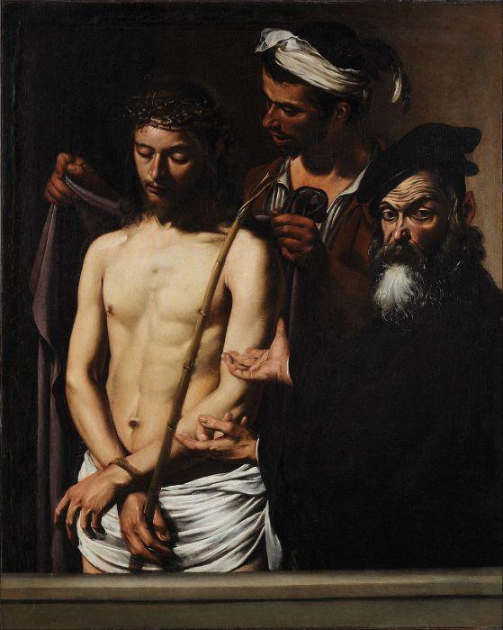 aravaggio. Ecce Homo. Hacia 1606. Palazzo Rosso. Genova.