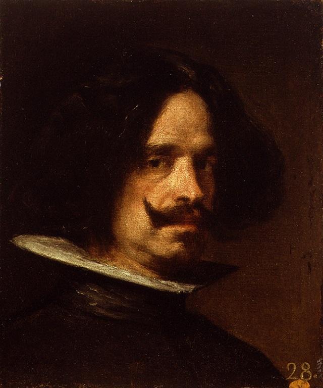 Diego Velázquez. Autorretrato. Hacia 1640. Museo de Bellas Artes. Valencia.