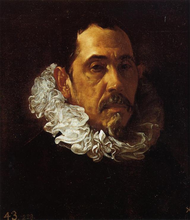 Diego Velázquez. Francisco Pacheco. Hacia 1620. Museo del Prado. Madrid.
