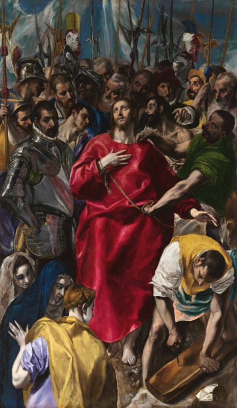 El Greco. El expolio. Hacia 1577-1579. Catedral de Toledo.