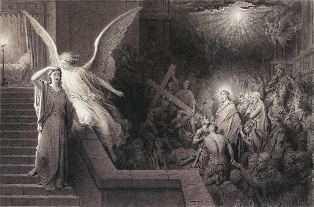 Gustave Doré. El sueño de la mujer de Pilato
