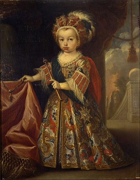 Miguel Jacinto Meléndez. Luis I, Príncipe de Asturias. 1712. Museo Cerralbo. Madrid.