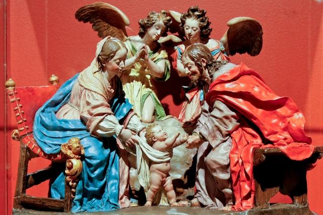 Luisa Roldán. Primeros pasos de Jesús. 1692-1706. Museo de Guadalajara.