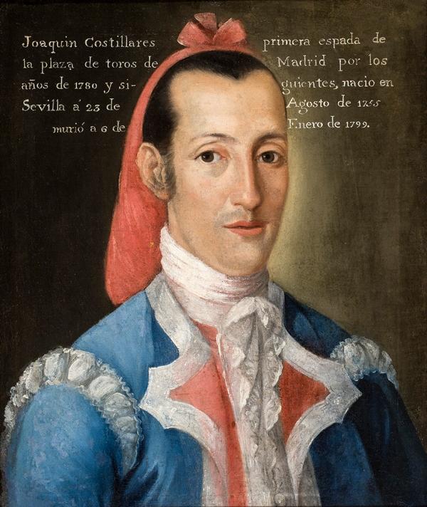 nónimo. Joaquín Rodríguez Costillares. Museo de la Real Maestranza de Caballería de Sevilla