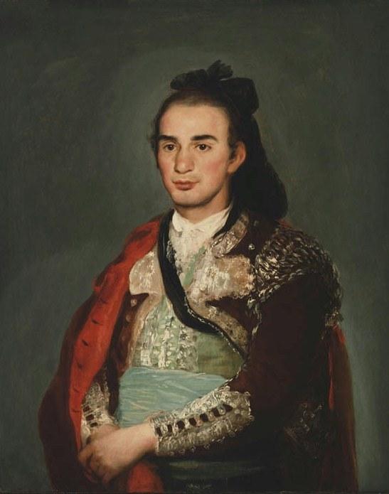 Francisco de Goya. Retrato de José Romero. 1795. Museo de Arte de Filadelfia. EEUU.