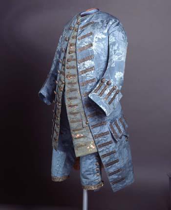 Traje masculino (Vestido a la francesa) 1750-1760.