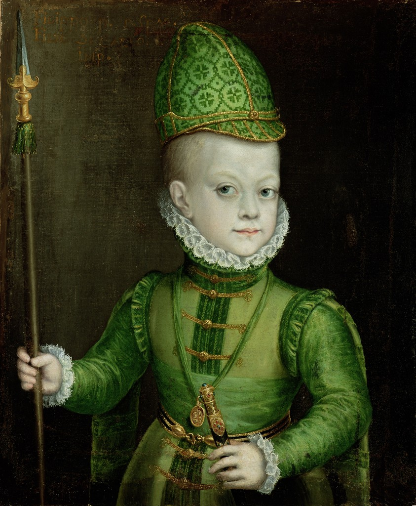 Los hijos malogrados de Felipe II