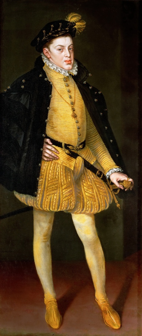 Alonso Sánchez Coello. Infante don Carlos. 1564. Kunsthistorisches Museum. Viena.