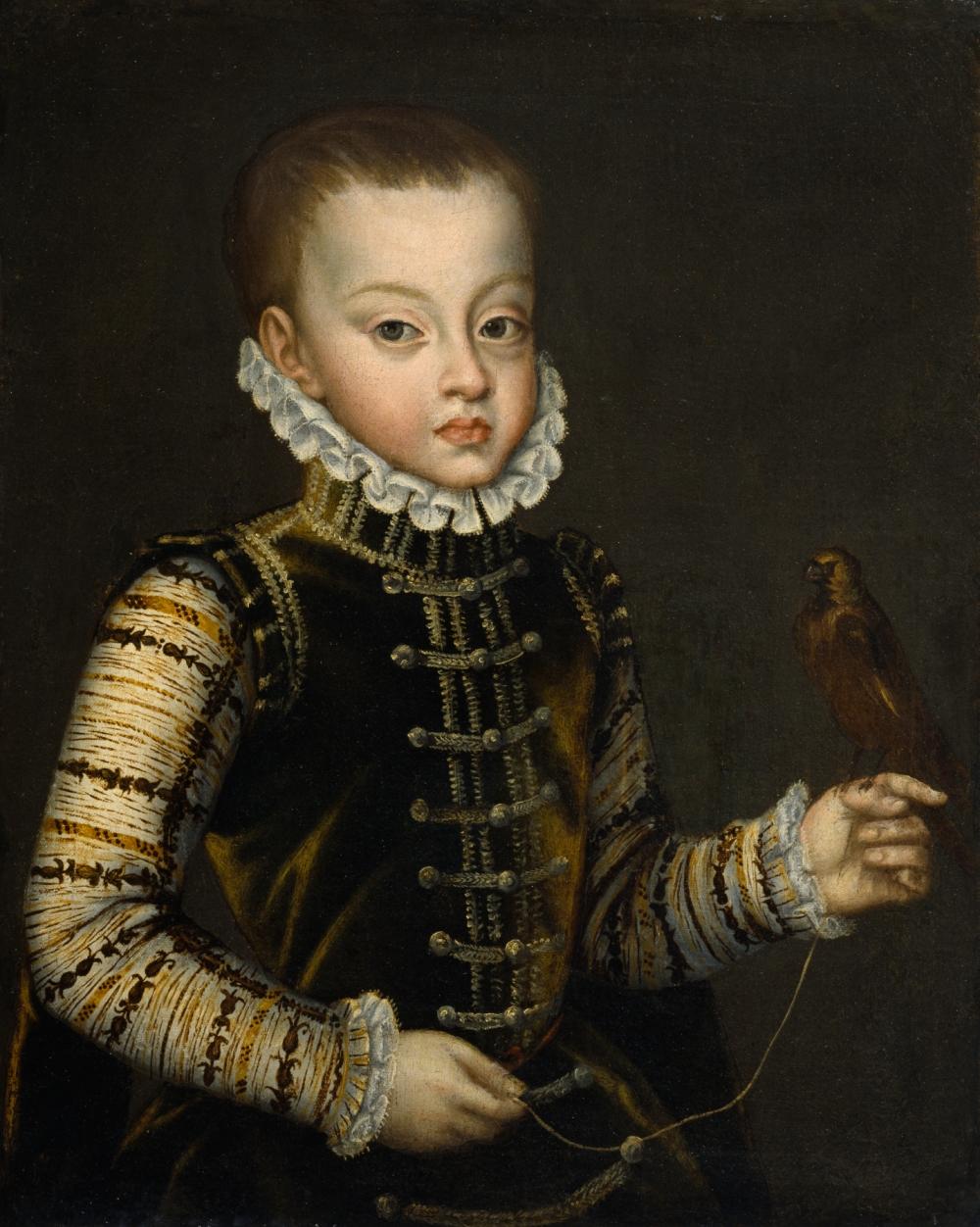 Alonso Sánchez Coello. El infante don Fernando. Walters Art Museum. Baltimore. Estados Unidos.