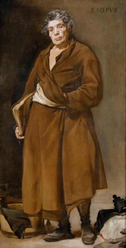 Diego Velázquez. Esopo. Hacia 1638. Museo del Prado. Madrid.