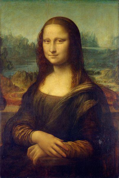 Leonardo da Vinci. La Gioconda. 1503-1506. Museo del Louvre. Paris.