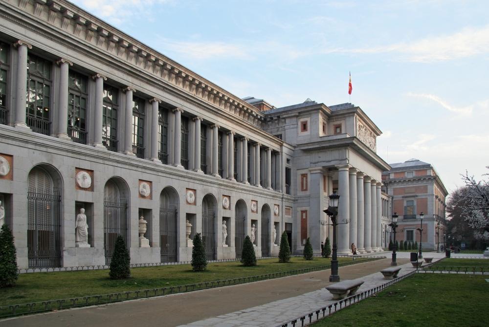 Edifico Villanueva del Museo del Prado.