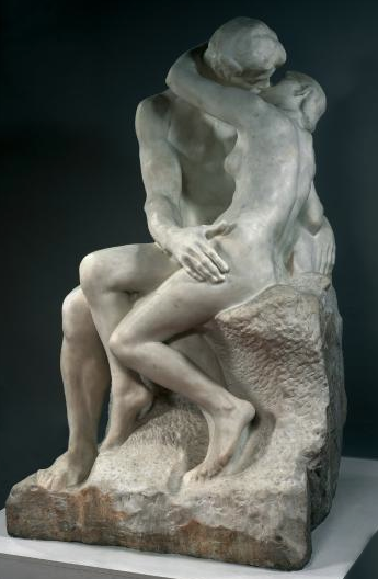 August Rodin. El beso.Hacia 1882. Museo Rodin. Paris.