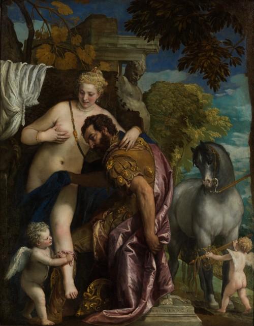 Paolo Verones. Marte y Venus unidos por el amor. 1570. Metropolitan Museum. Nueva York.