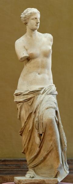 Venus de Milo. Museo del Louvre. Paris