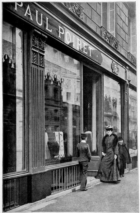 Tienda Paul Poiret. 1900.