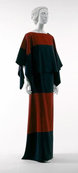 Traje de cena. 1922-1923.