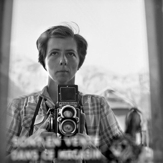 Vivian Maier. Autorretrato. Maloof Collection.
