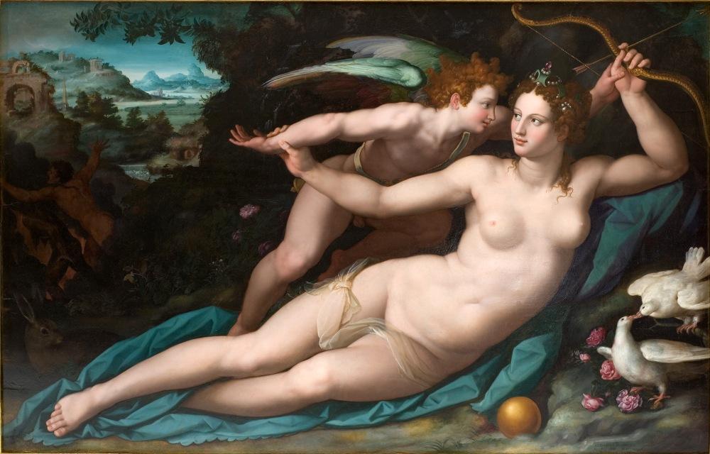 Alessandro Allori. Venus y Cupido. Después de 1570. Museo Fabre. Montpellier.